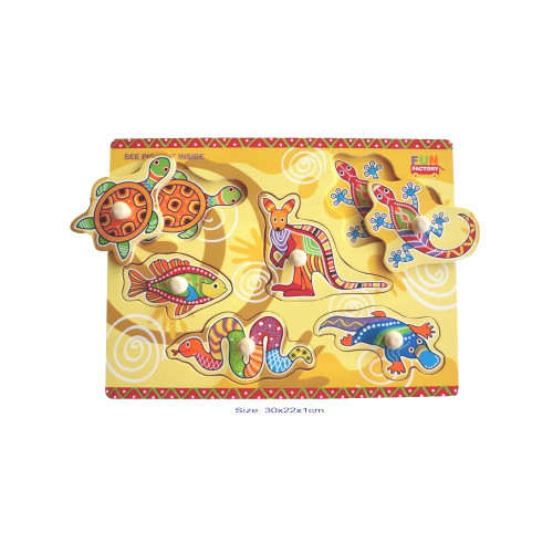 Fun Factory Wooden Aboriginal Puzzle