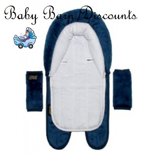 Jolly Jumper 3 in 1 Head Hugger - Navy Blue