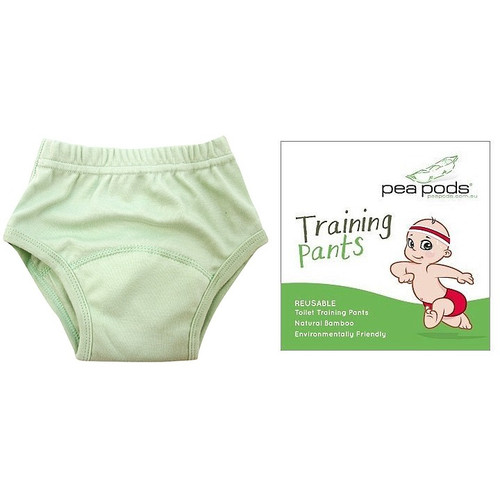 Pea Pods Reusable Training Pants - Mint