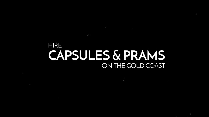 Hire capsules and prams on the gold coast