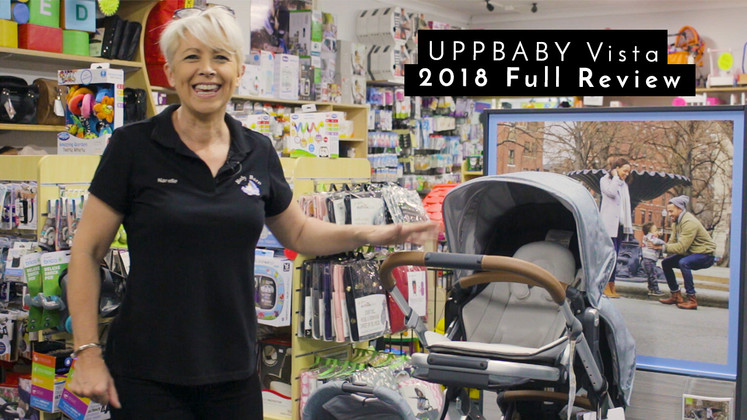 Introducing the Uppababy Vista and how to put it together
