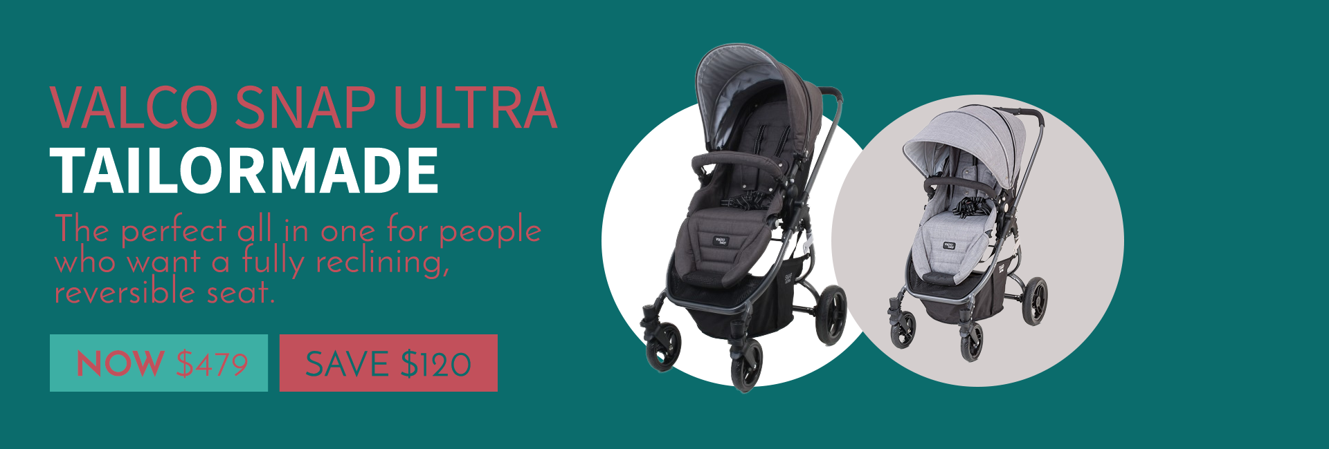 Valco Baby Snap Ultra Tailormade Sale