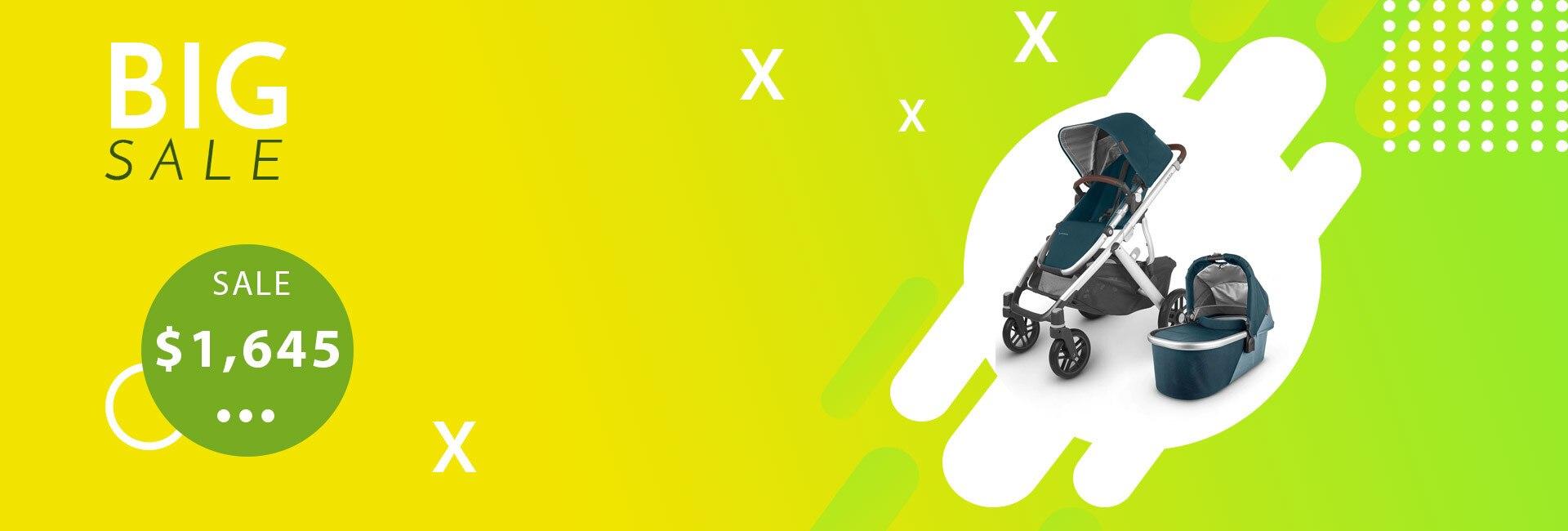 UppaBaby Vista Stroller Package Deal