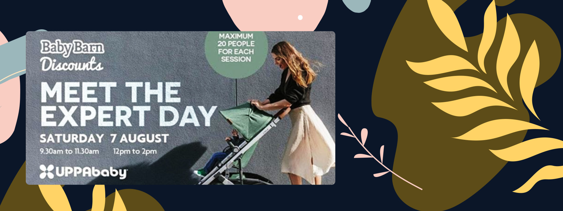 New Event with Uppababy featuring their new Vista V2