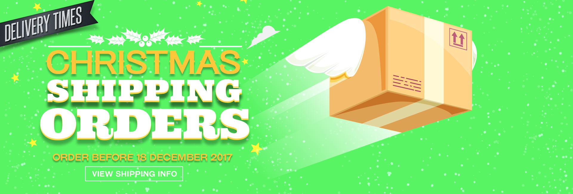 Christmas Shipping Times For 2018