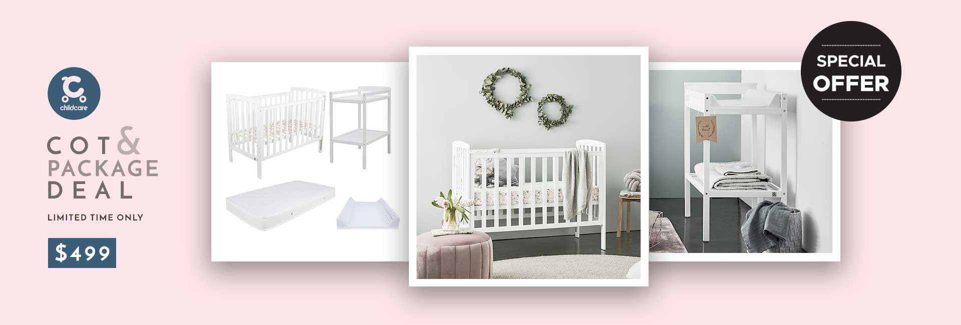 childcare cot package deal
