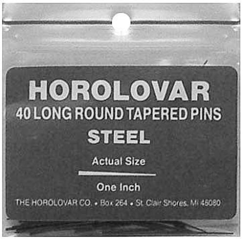HOROLOVAR STEEL TAPERED PINS