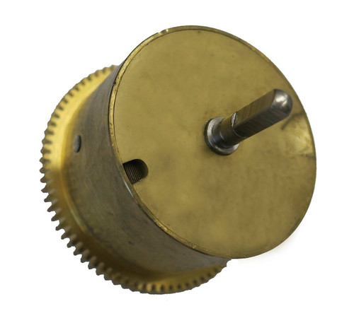 JAUCH MAINSPRING WITH BARREL WITH CLICK WHEEL AND SHAFT PL-46
