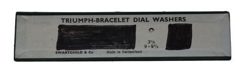 """TRIUMPH-BRACELET DIAL WASHERS 3 1/2"""""""