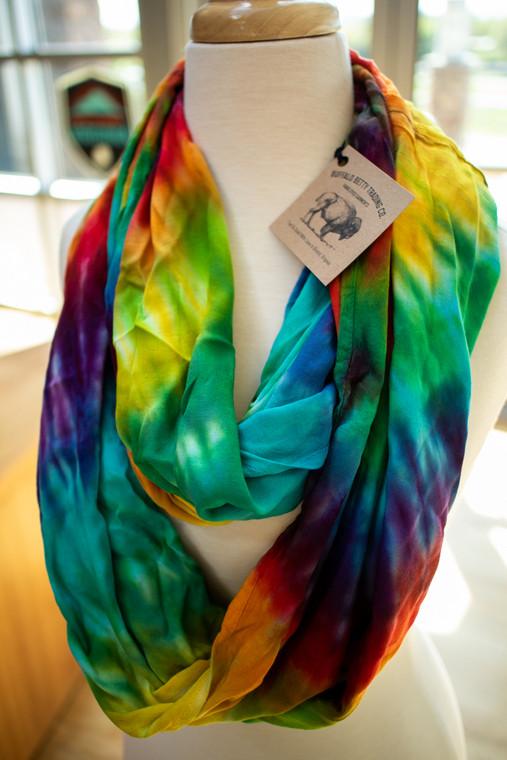 Tie-Dye Infinity Scarves (Various) - 55534