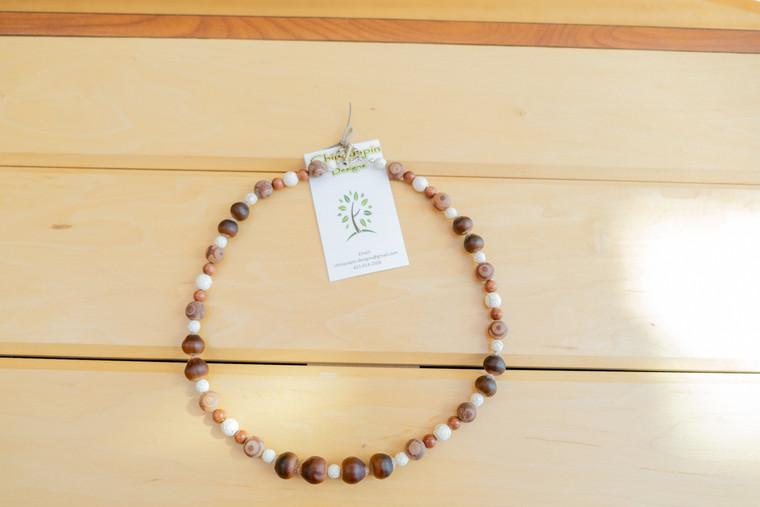 Chinquapin Necklace w/Pendant