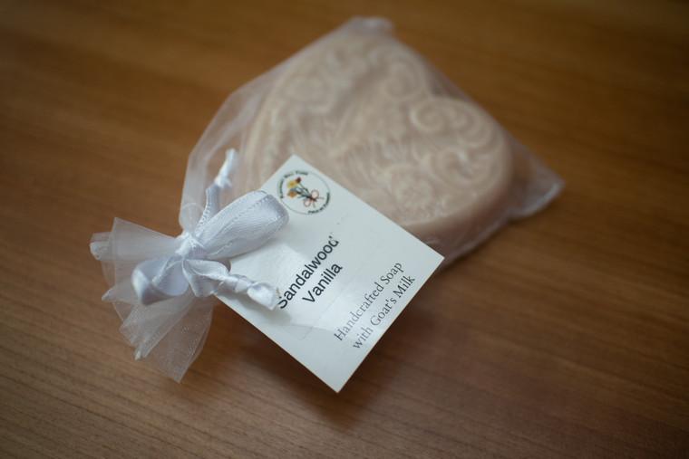Soap Heart (Sandalwood Vanilla) - 16085