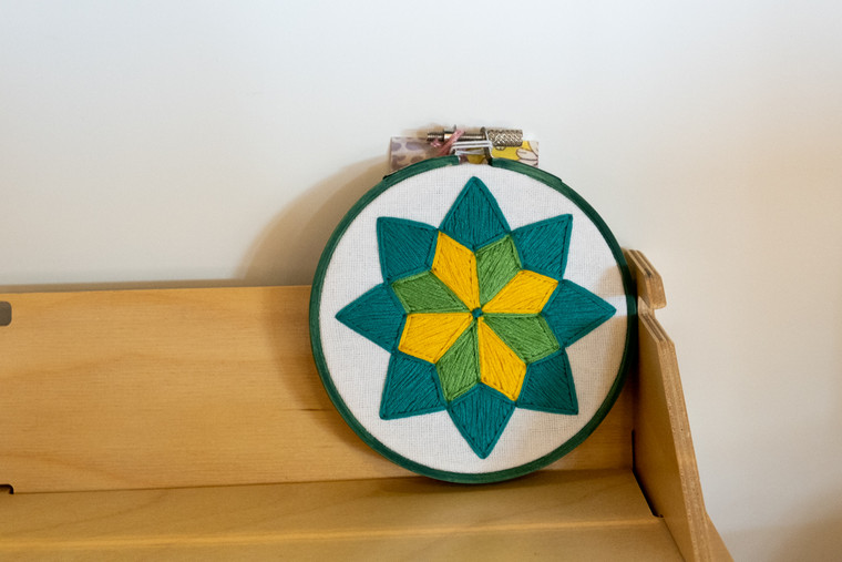 Small Quilt Pattern Hoop