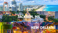 Miami, Jackson MS, & New Orleans: Top Hairstyles of the Southeast States