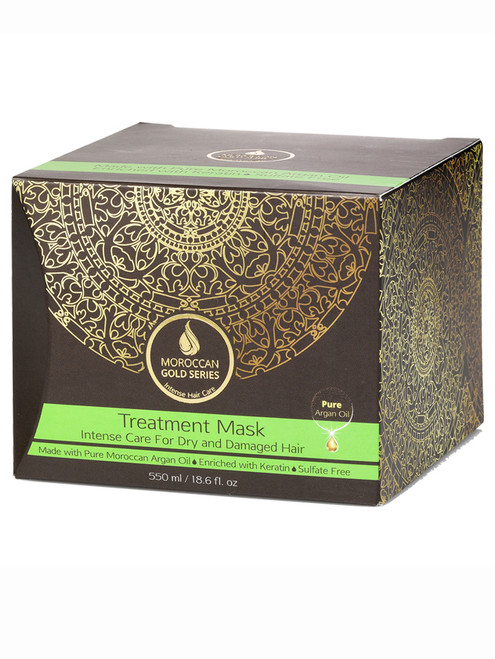 Treatment Mask (Moroccan Gold Series)