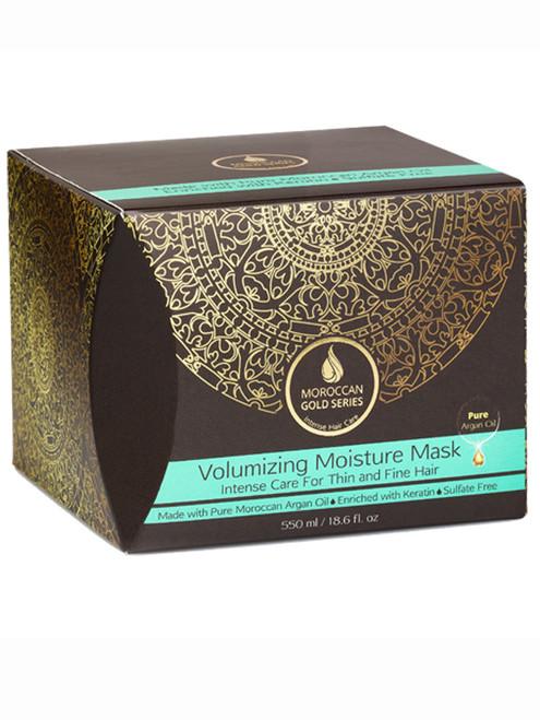 Volumizing Moisture Mask (Moroccan Gold Series)
