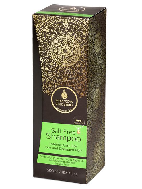 Salt-Free Shampoo (Moroccan Gold Series)