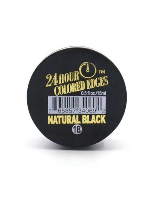 24Hour Colored Edge Tamer - Natural Black