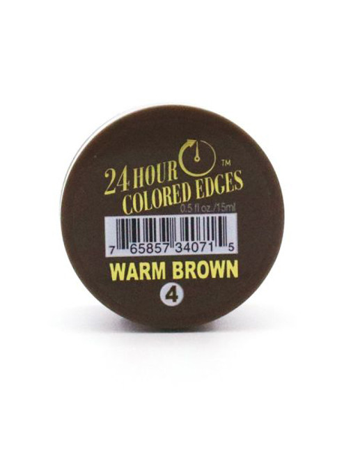 24Hour Colored Edge Tamer - Warm Brown