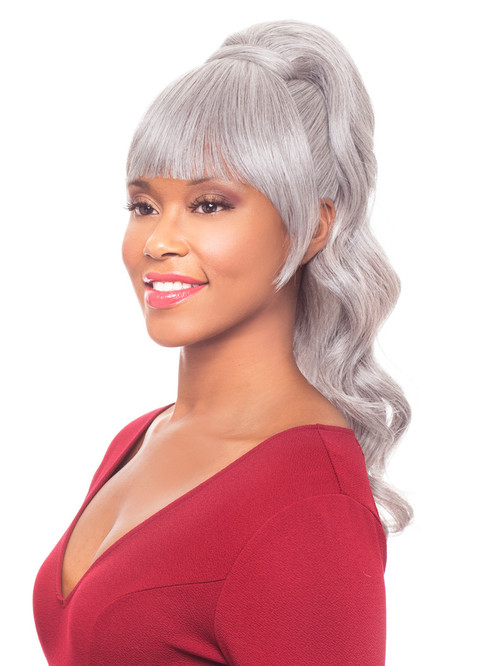Duet 2 Heat Friendly Synthetic Drawstring Ponytail
