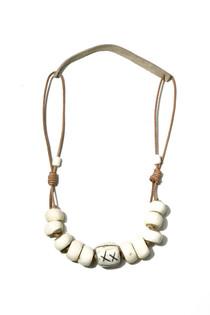 Cord Classic Necklace - Neutrals
