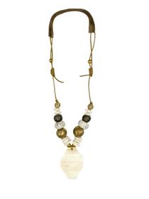 Cord Pendant Necklace Alpine