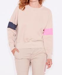 Arm Stripe Zip Sweatshirt