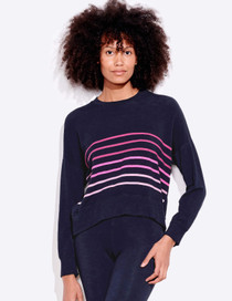 Stripes Oversized Sweatshirt
