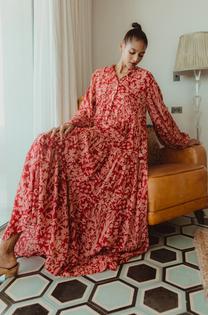 Valeria Printed Dress