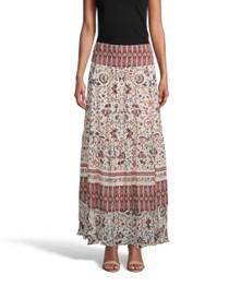 Jakarta Print Maxi Skirt