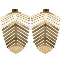 Palm Leaf Earring