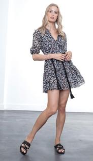 Irina Print Mini Dress