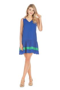 Strappy Colorblock Dress