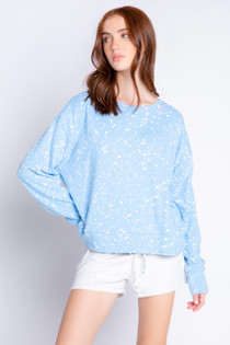 Flick of Brush Long Sleeve Top
