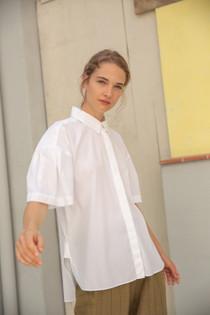 Cotton Poplin Button Down Shirt