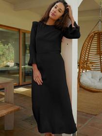 Juliana Flirty Midi Skirt