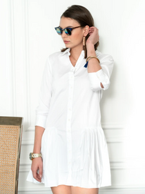 The Drop Waist Shirtdress
