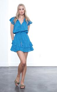 Daisey Metallic Mini Dress