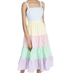 Spring Soiree Midi Dress