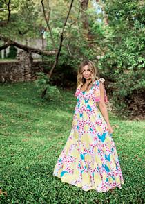Kelly Tiered Maxi Dress II