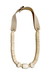 Stacked Classic Necklace - White