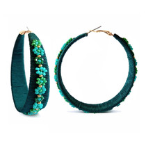 Murano Hoop Earring