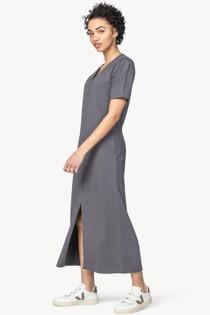 Elbow Sleeve Vneck Dress