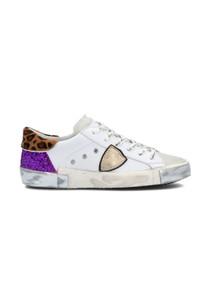 PRSX Leo Mixage Blanc Violet Sneaker