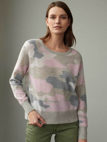 Camo Intarsia Sweater