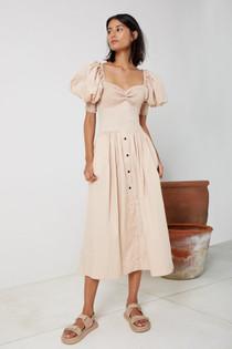 Travertine Sweetheart Dress