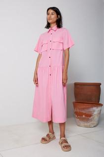 Utilitarian Midi Dress