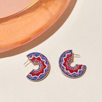 Lydia Hoop Earrings