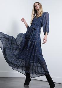 Eliza Print Maxi Dress