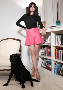 Ina Leather Skirt